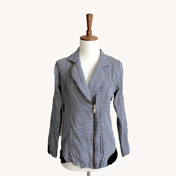 Anthropologie Jackets & Blazers - Checkered Jacket